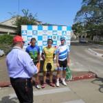 Entrega de premio de la 5ª etapa